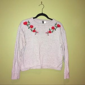 H&M Embroidered Jumper